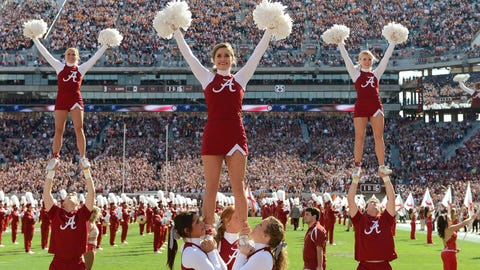 SEC Football Cheerleaders