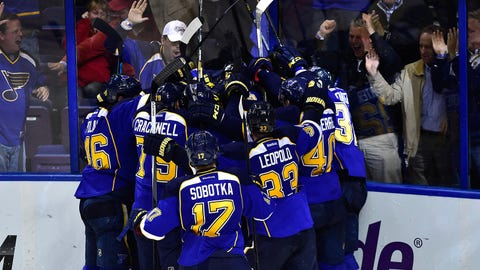 2014 Stanley Cup Playoffs: Blues-Blackhawks Game 1