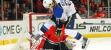 Berglund's return softens the blow of Backes' absence