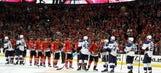 Blues GM says Blackhawks loss stings