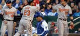 Orioles beat Royals 2-1 to snap four-game streak