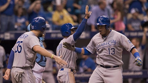 July 9: Royals 5, Rays 4