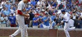 Cardinals let one slip away against last-place Cubs