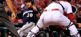 Brewers clip Cardinals, 7-4