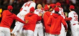 Comeback Cardinals make appearance with 3-2 walkoff win over Brewers in 13th
