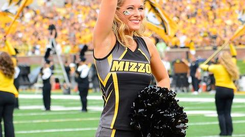 SEC football cheerleaders 2014