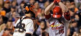 Giants beat Cardinals 6-4, move one win from Series