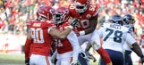 On back of defense, Chiefs climb into first place