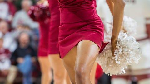 SEC Basketball Cheerleaders 2014-15