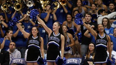College Basketball Cheerleaders 2014-15