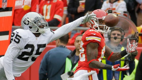 Kansas City: A wide receiver who can score a TD