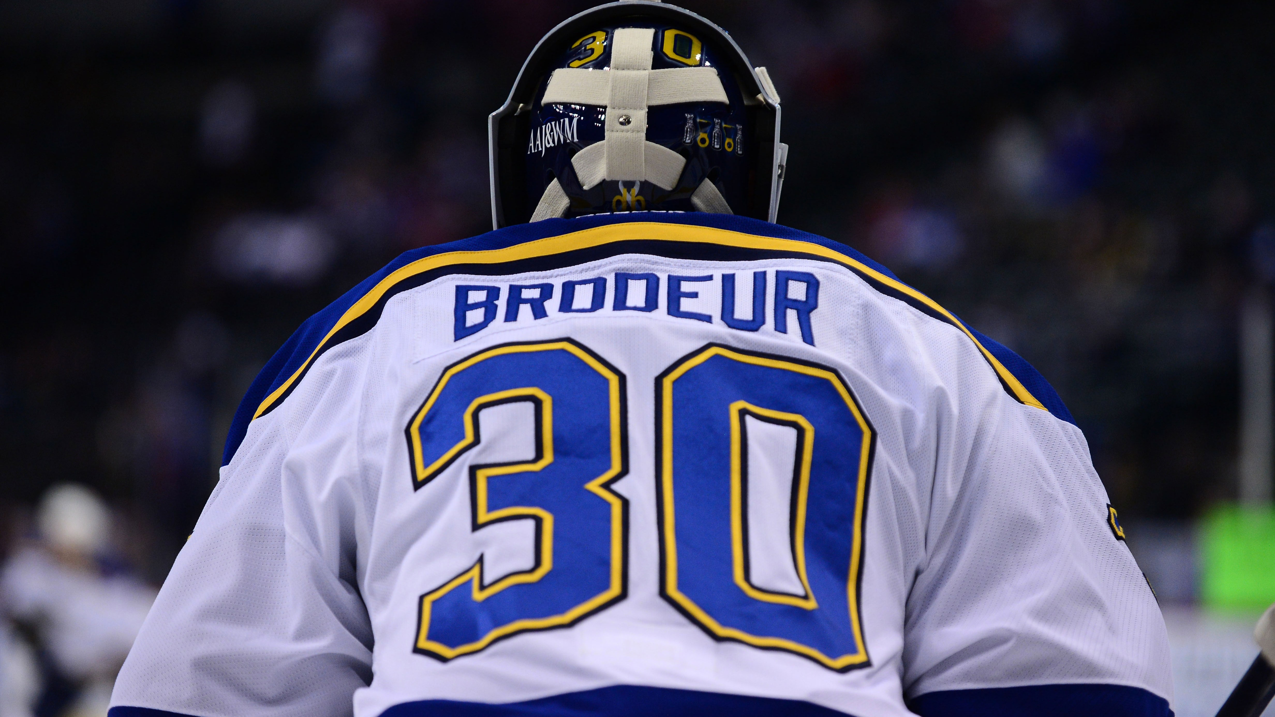 Martin Brodeur To Retire Take Job In Blues Front Office Fox Sports