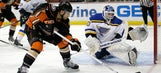 Blues downed by Ducks, 4-3