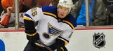 Missed chances haunt Blues in loss at first-place Anaheim