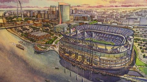 Plans for a new stadium