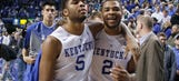 Aaron Harrison gets not-so-friendly NBA welcome