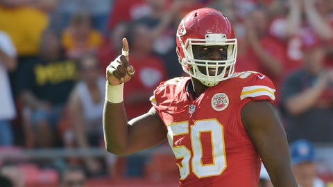 Justin Houston, LB, Chiefs (knee): Active