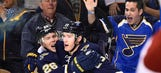 Blues look to end four-game homestand on a positive note