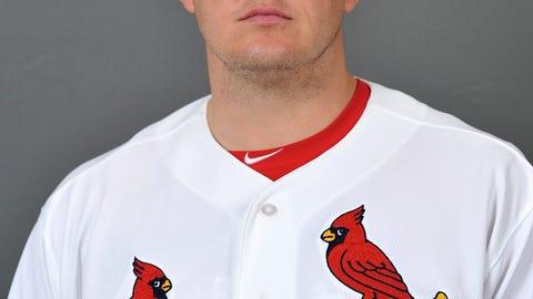Bullpen catcher Jamie Pogue