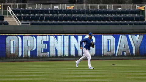 Opening Day at The K