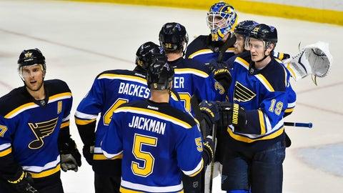 Blackhawks at Blues
