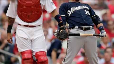 Brewers vs. Cardinals at Busch Stadium