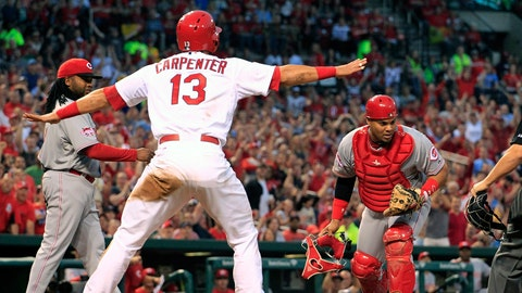 Cardinals 6, Reds 1