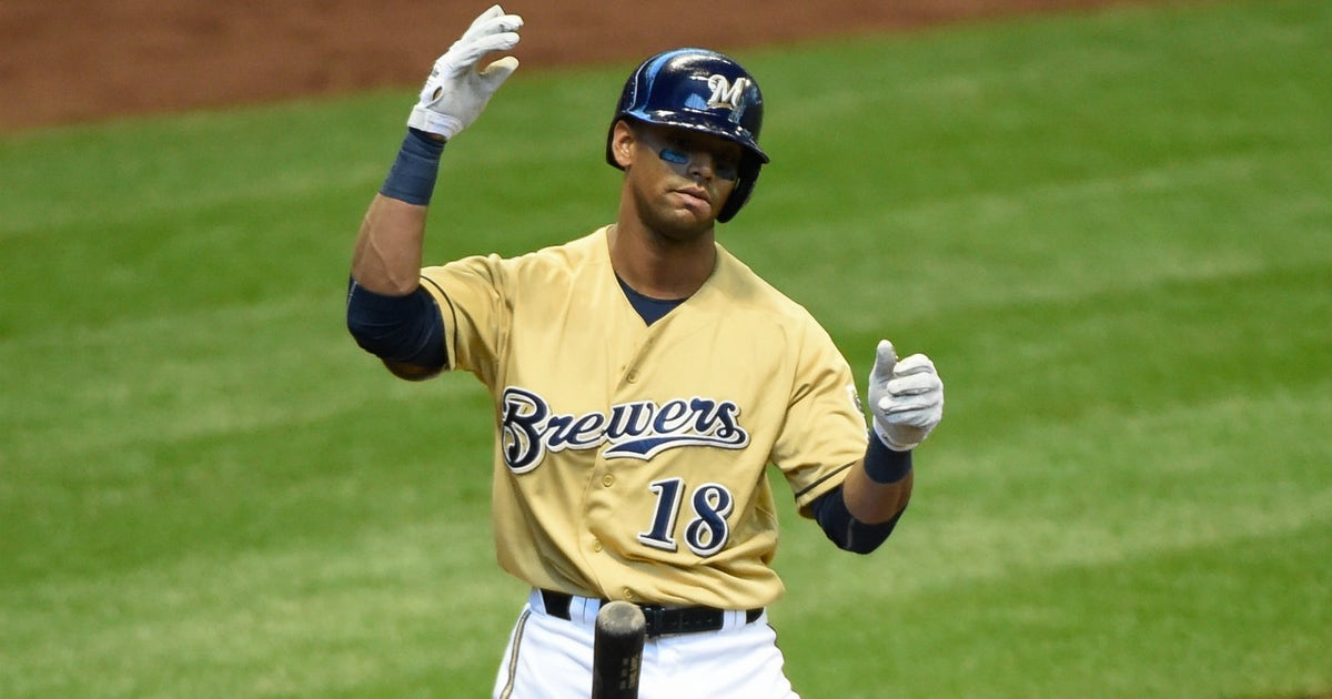 Morosi Expect Brewers To Trade Of Khris Davis Fox Sports