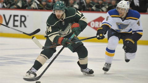 Game 6: Blues at Wild
