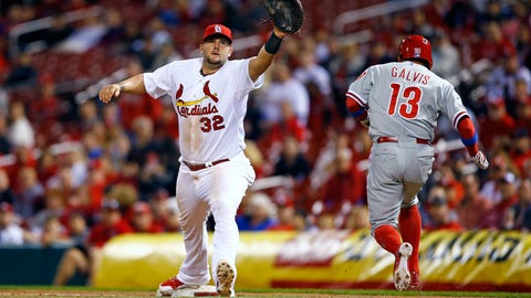 Phillies at Cardinals