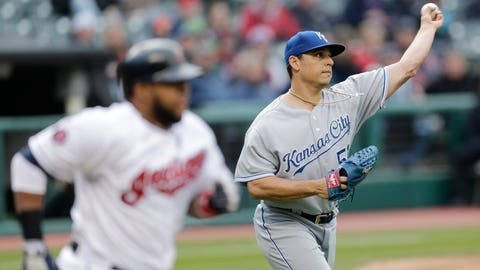Royals at Indians