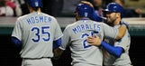 Royals score six in seventh to overtake Indians 11-5