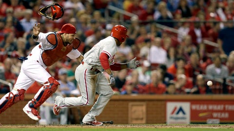 Phillies at Cardinals Baseball