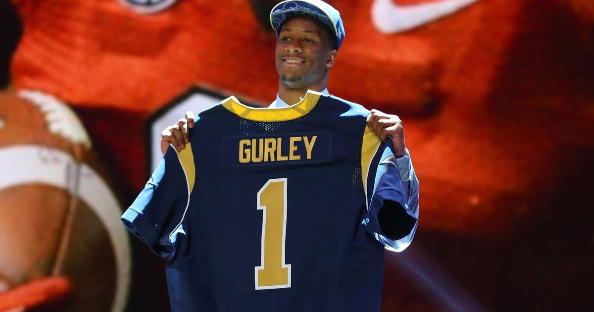 Risk Reward Gurley S Talent Outweighs Injury Concerns For
