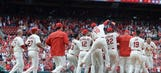 Cardinals beat Pirates 2-1 in extras — again