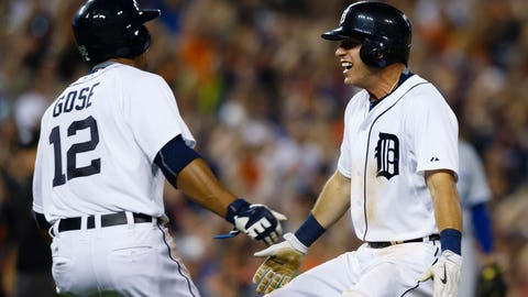Tigers show off speed in walk-off win over Royals