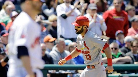 Cardinals 2, Indians 1