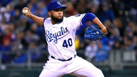 21. Kelvin Herrera, RP, Kansas City Royals (1.95 ERA, 0.946 WHIP, 37 SO, 37 IP)