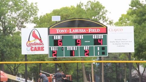 Tony La Russa Field Dedication