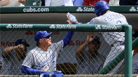 Royals at Cubs