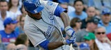 Raising Cain: Royals outfielder shakes slump with three-hit day
