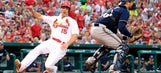 Cardinals return favor, edge Brewers