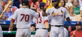 Cardinals offense takes out frustrations on Phillies