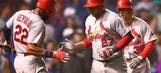 Peralta hits 2-out HR in 9th, Cardinals jolt Cubs