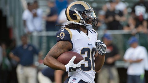 Todd Gurley, RB, Rams (thigh): Questionable