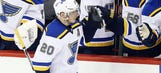 Blues seek sixth straight win — but without Steen