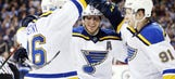 Blues rally to beat Jets 4-3 on late goal by Stastny