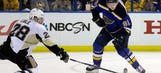 Blues head to Detroit, where Red Wings have been struggling