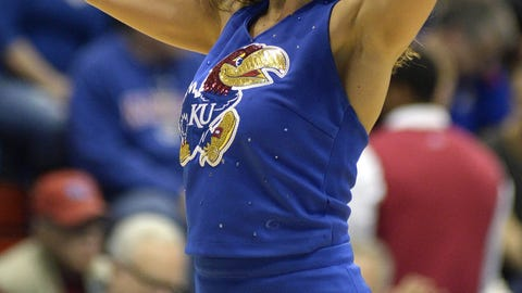 2015-16 NCAA basketball cheerleaders
