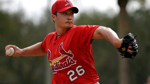 Seung-Hwan Oh will lead the majors in saves.